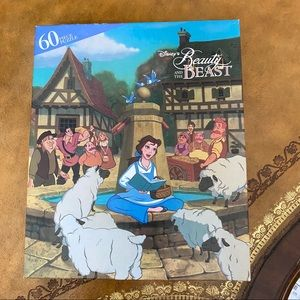 Disney's Beauty and the Beast 60 puzzle